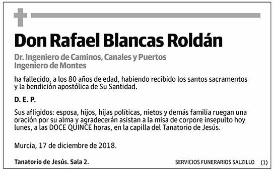 Rafael Blancas Roldán