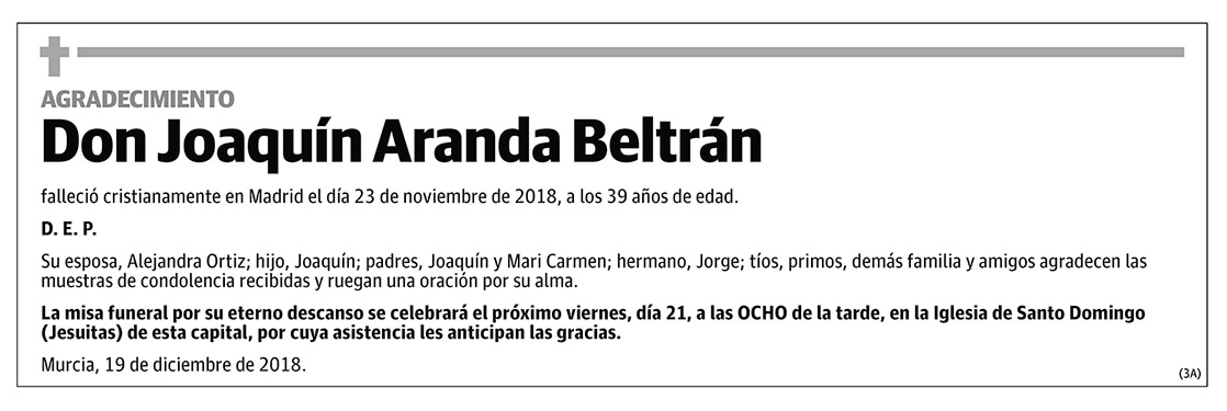 Joaquín Aranda Beltrán