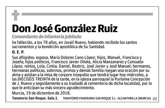 José González Ruiz