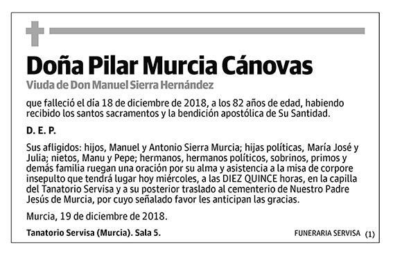 Pilar Murcia Cánovas