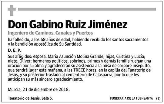 Gabino Ruiz Jiménez