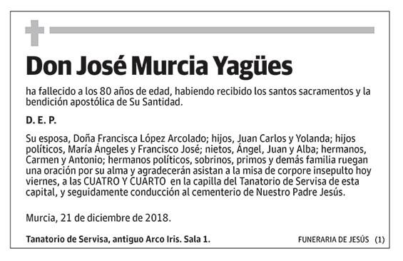 José Murcia Yagües