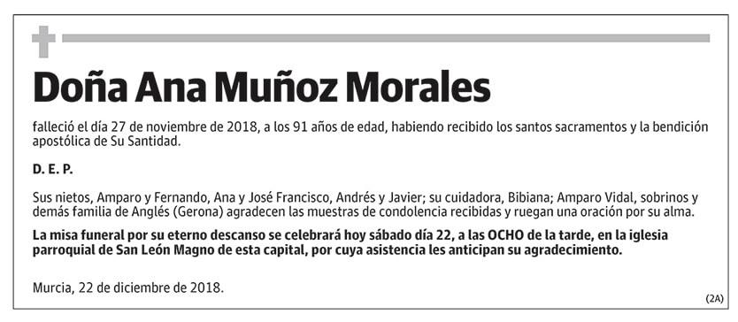 Ana Muñoz Morales