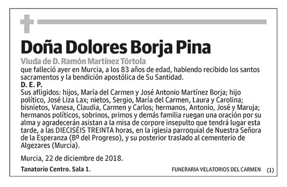 Dolores Borja Pina