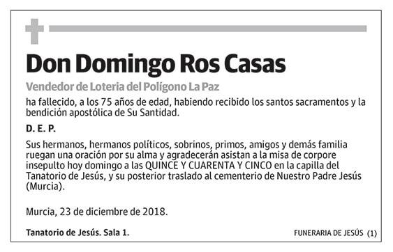 Domingo Ros Casas
