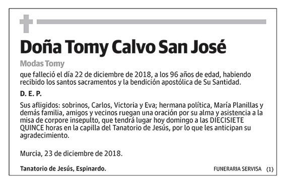 Tomy Calvo San José