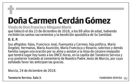 Carmen Cerdán Gómez