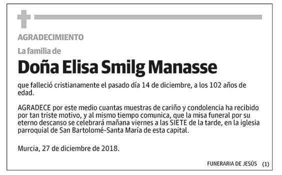 Elisa Smilg Manasse