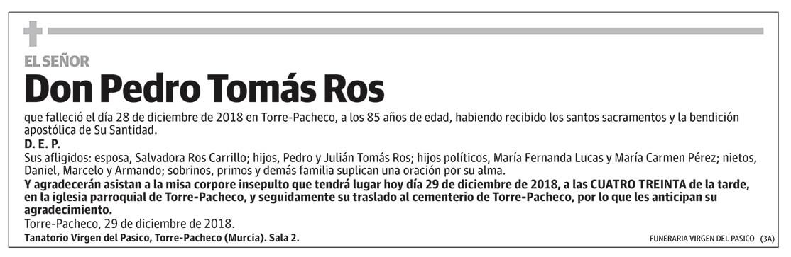 Pedro Tomás Ros