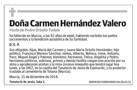 Carmen Hernández Valero