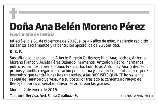 Ana Belén Moreno Pérez