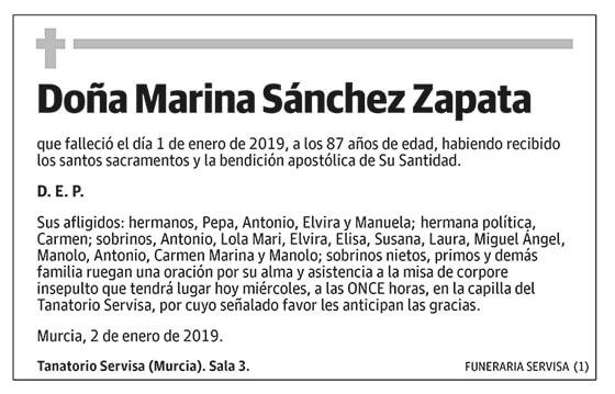 Marina Sánchez Zapata