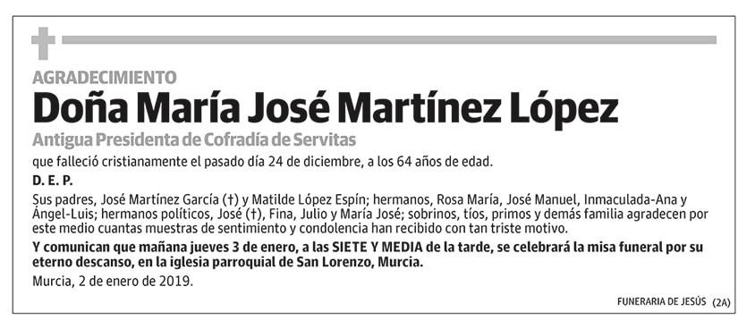 María José Martínez López