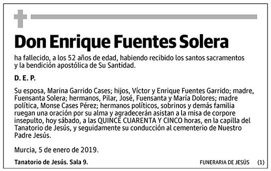 Enrique Fuentes Solera