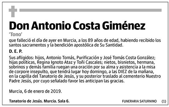 Antonio Costa Giménez