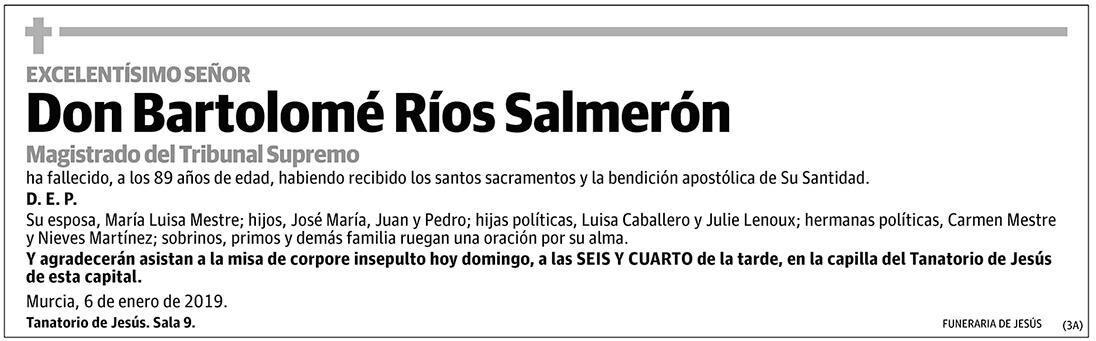 Bartolomé Ríos Salmerón