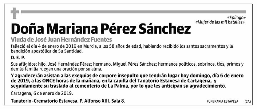 Mariana Pérez Sánchez