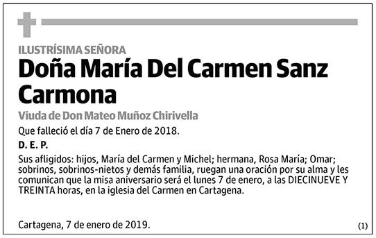 María Del Carmen Sanz Carmona