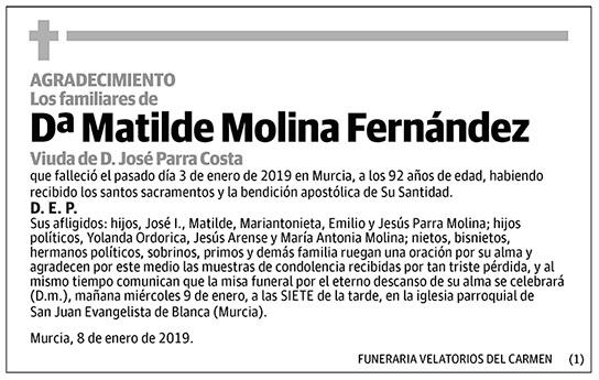Matilde Molina Fernández