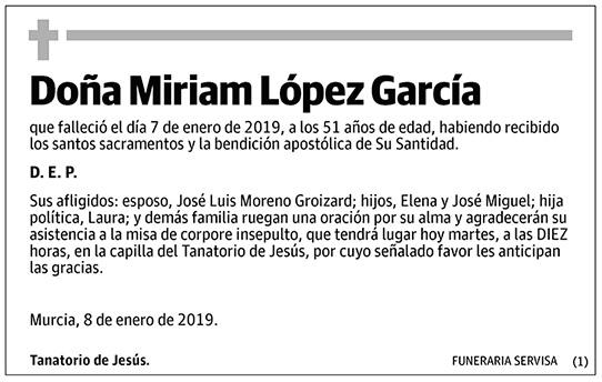 Miriam López García