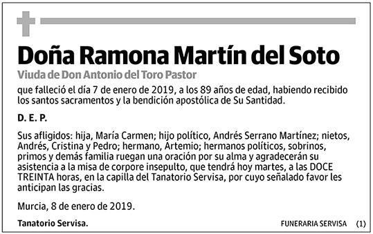 Ramona Martín del Soto