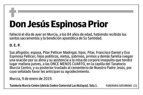 Jesús Espinosa Prior