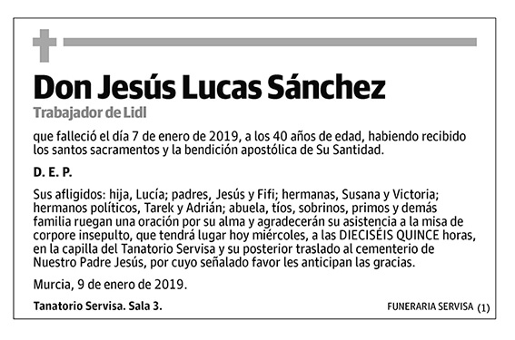 Jesús Lucas Sánchez