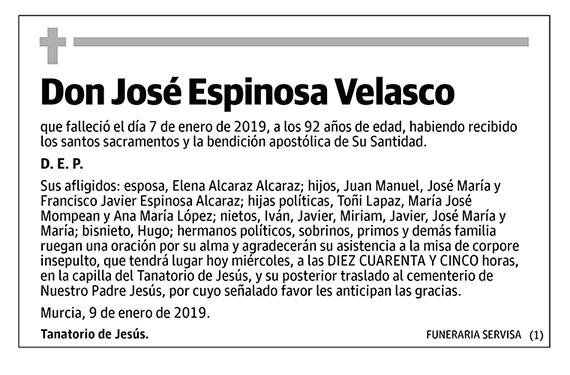 José Espinosa Velasco