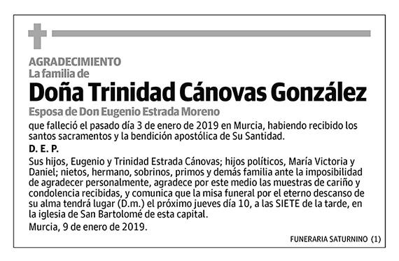 Trinidad Cánovas González