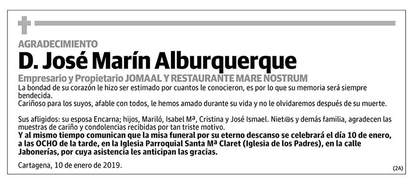 José Marín Alburquerque