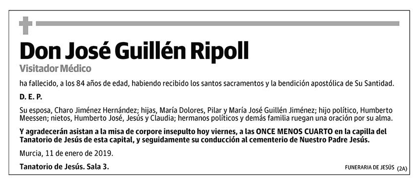 José Guillén Ripoll