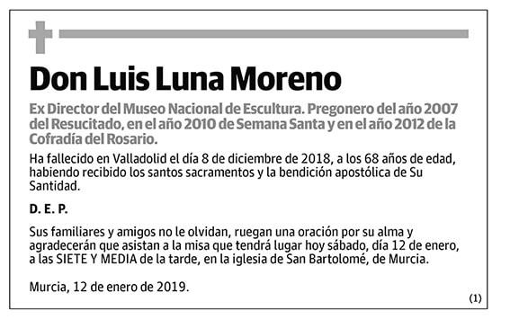 Luis Luna Moreno