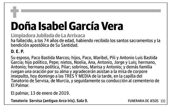 Isabel García Vera