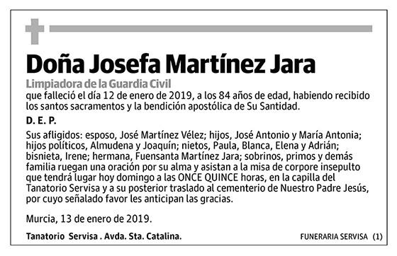 Josefa Martínez Jara