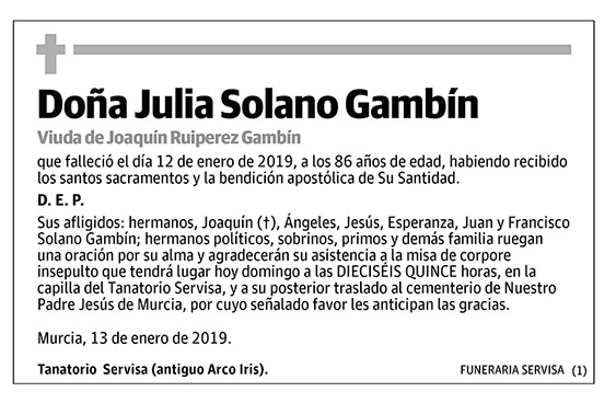 Julia Solano Gambín
