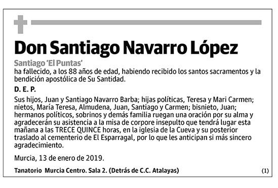 Santiago Navarro López
