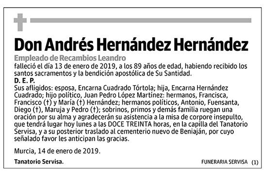 Andrés Hernández Hernández