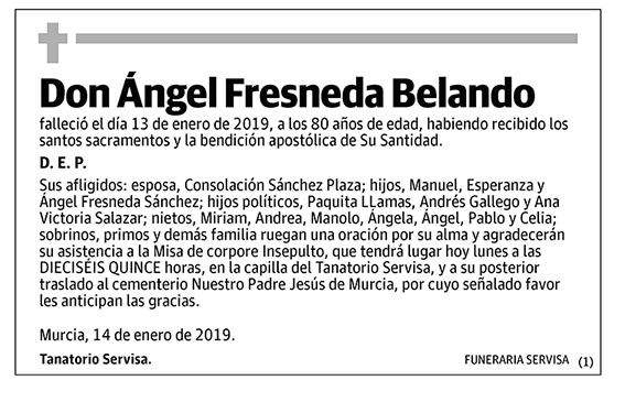 Ángel Fresneda Belando