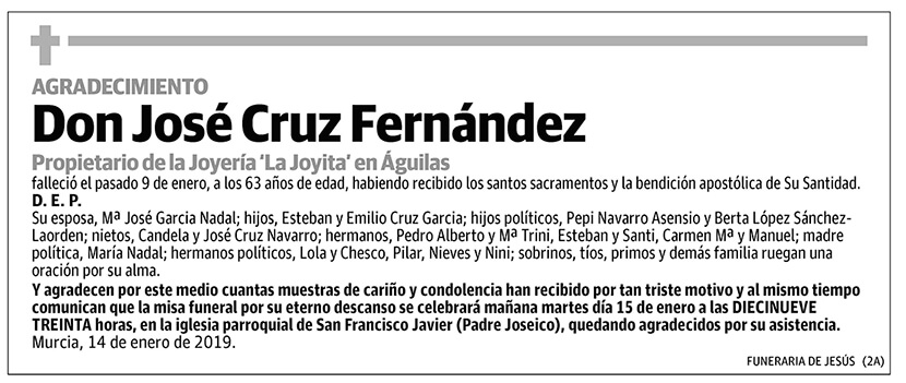 José Cruz Fernández