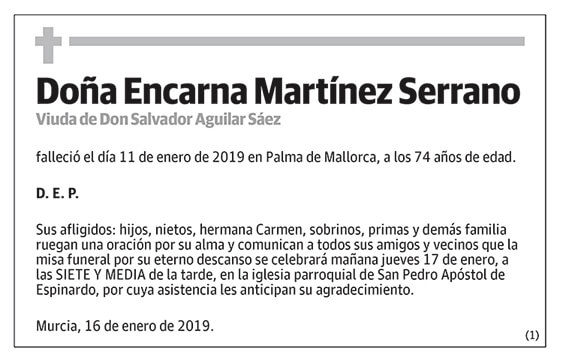 Encarna Martínez Serrano