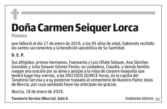 Carmen Seiquer Lorca