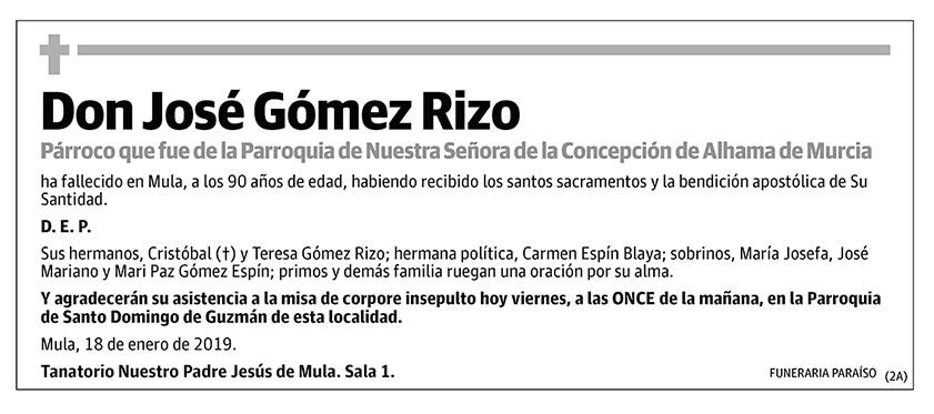 José Gómez Rizo
