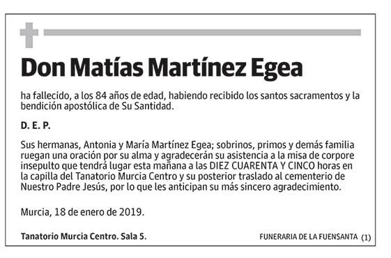 Matías Martínez Egea