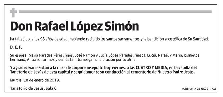 Rafael López Simón
