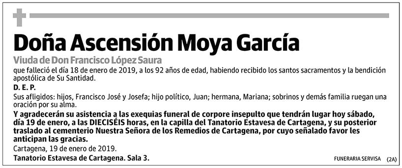 Ascensión Moya García