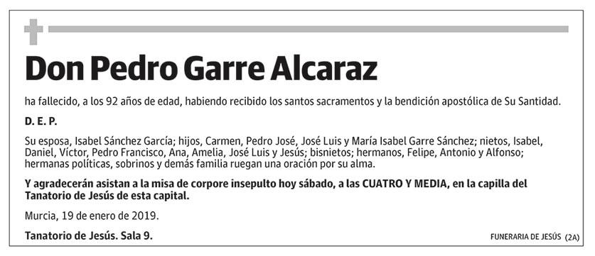 Pedro Garre Alcaraz