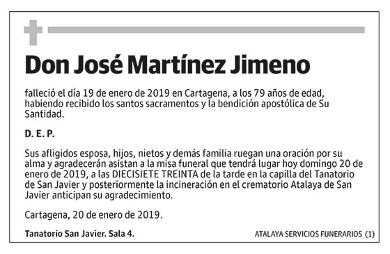 José Martínez Jimeno