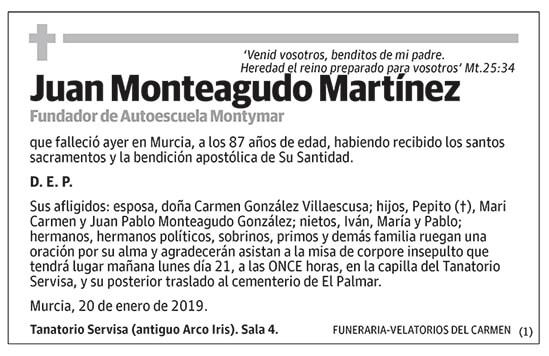 Juan Monteagudo Martínez