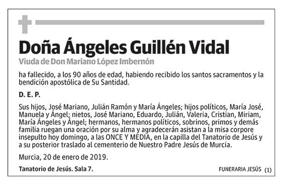 Ángeles Guillén Vidal