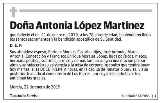 Antonio López Martínez